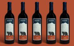 Дизайн винной этикетки More interesting wine : ) PD
