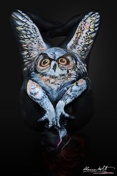 Shannon Holt Body Painter Florida Wildlife SeriesBody Art