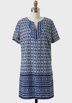 Age Of Art Printed Shift Dress | Modern Vintage Dresses | Modern Vintage Clothing