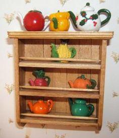 how to: wall shelf  http://www.pinterest.com/dhminis/miniature-perfume-toiletries/
