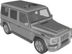 Mercedes-Benz G-class 3D Model