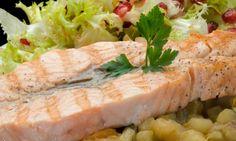 Receta de Mariposas de salmón con verduras