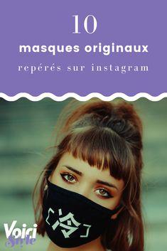 Découvrez les masques DIY les plus cool d'Instagram sur Voici.fr ! Voici, Diy, Movie Posters, Movies, Instagram, Fashion Clothes, Masks, Bricolage, Films