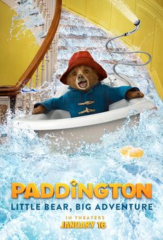 Little bear, big adventure! Paddington is coming to theaters on January 16, 2015 in a brand new family film. Don't miss everyone's favorite bear, based on the classic children's book series by Michael Bond. Click to watch the trailer.