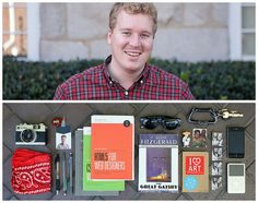 Aaron Diptych - What's in your bag?