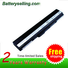 Replacement Asus A32-K52 Laptop Battery 10.8V 5200mAh 6 cell 30 days money back, 2 year warranty http://www.batteryselling.com