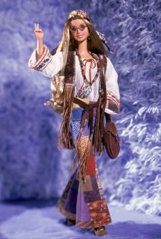 Peace & Love 70's™ Barbie® Doll   The Barbie Collection