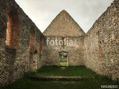 "Download the royalty-free photo ""Ruins of of old church"" created by EMSI at the lowest price on Fotolia.com. Browse our cheap image bank online to find the perfect stock photo for your marketing projects!"