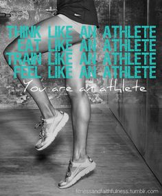 This blog has pretty inspirational quotes and is focused on female athletes with a slight touch of Christianity. Check it out if you need some motivation to get moving!