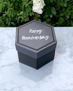 Our newly released Tower Box™ can expand over 10 inches to reveal multiple layers of your most cherished memories. Great for anniversaries, birthdays, celebrations, scrapbooking and more!
