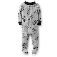 NWT Carter/'s Snug Cotton Feety Pajamas 5T Ninja Raccoon