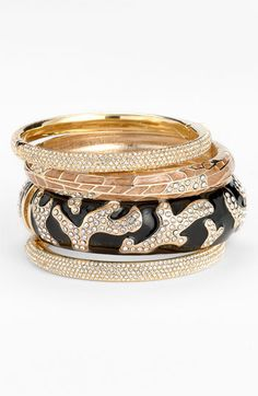 Micro Pavé #Bangles | YES PLEASE! #jewelry