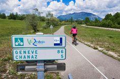 The ViaRhôna bike route - Freewheeling France