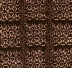 Woven Block - Knittingfool Stitch Detail