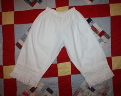 Victorian Child's Bloomers Late 1800s