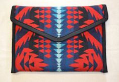 Pendleton® Wool -- 13 Macbook Case    I have created my original design MacBook cover out of genuine blanket weight Pendleton® Wool.