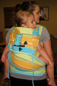 """I was just able to sat/show my very sick toddler/5 !/2 yr old...""""LOOK!! That's you on mama's back!!! It dried her sad eyes for a few minutes :)"""