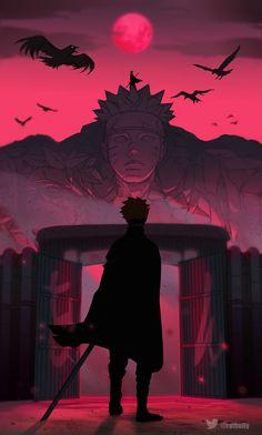 Naruto Shippuden Characters, Naruto Shippuden Anime, Anime Naruto, Boruto And Sarada, Whatsapp Wallpaper, Naruto Fan Art, Cool Anime Pictures, Boruto Naruto Next Generations, Manga Covers
