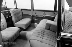 Interior of Mercedes Benz 600 Pullman