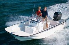 Boston Whaler Montauk  170. Seventeen feet of quality.