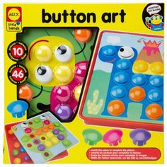 ALEX® Toys - Early Learning Button Art -Little Hands 1408