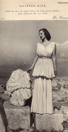 """""""LA GRECQUE MODE"""" magazine, 1938-1939 (photo by Nelly's)"""