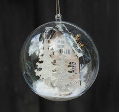 HOBBYKUNST Christmas Bulbs, Holiday Decor, Home Decor, Decoration Home, Christmas Light Bulbs, Room Decor, Home Interior Design, Home Decoration, Interior Design