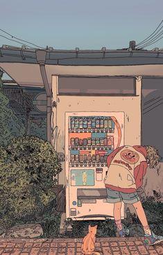 Anime Art Aesthetic – Art World 20 Aesthetic Anime, Aesthetic Art, Aesthetic Pictures, Japanese Aesthetic, Aesthetic Plants, Aesthetic Drawings, Aesthetic Backgrounds, Aesthetic Wallpapers, Pretty Art