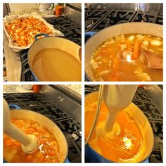Easy Roasted Butternut Squash Soup homemade, healthy, quick and delicious