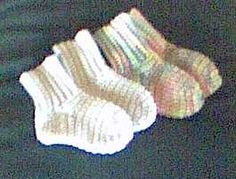 This is the baby crochet sock I use. Works well :) Turns out cute! I think it looks better in person than the picture.