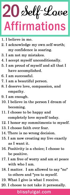 Self-love and affirmations quotes can be the perfect remedy to create a happier life. These affirmations for happiness are just what you need for self-improvement. Self-love quotes / Self-love tips health_tips, motivation, Affirmations For Happiness, Affirmations Positives, Self Love Affirmations, Positive Affirmations For Anxiety, Self Happiness Quotes, Miracle Morning Affirmations, Healthy Affirmations, Motivacional Quotes, Life Quotes