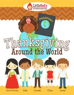 Thanksgiving Around the World Packet - a great resource to learn about harvest festivals around the world! $
