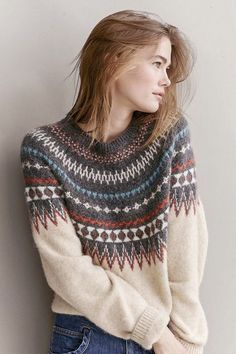 Knitting Patterns Pullover Norway gets competition. Look at this sweater. Closed Fashion in Gränicher Lucerne Fall Winter Outfits, Autumn Winter Fashion, Casual Christmas Outfits, Skandinavian Fashion, Lolita Mode, Look Fashion, Fashion Outfits, Fashion 2017, Fall Fashion
