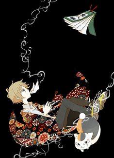 Natsume Yuujinchou ~~ The Book, Natsume, & Nyanko-sensei