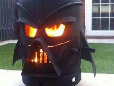 Darth Vader Log Burner