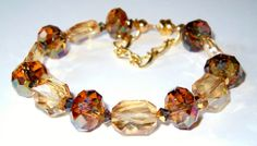 Betty's Bracelet - Swarovski crystal beads...there is no substitute!