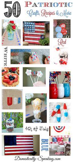 50 Patriotic Crafts Recipes Decor