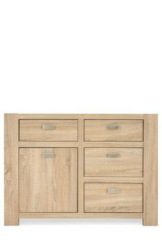 Good option to have shelves above for books. Lots of hidden storage,  Corsica® Small Sideboard