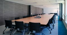 Meeting room into the offices of ASN in Montrouge, France