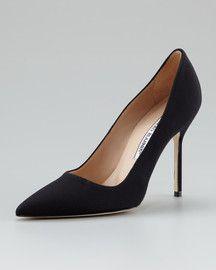 4d1dbd302 MANOLO BLAHNIK CLASSIC COLLECTION Black Pumps Heels