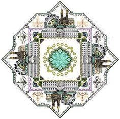 Vienna Mandala Cross Stitch Pattern by Chatelaine Designs, Martina Rosenberg   http://europeanxs.com/cgi-bin/chat_detail.pl?CDVM