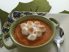 spice sweet, mini marshmallow, potato gratin, sweet potato