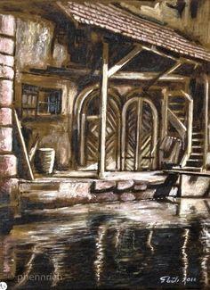 Am Mühlkanal bei der Silbermühle