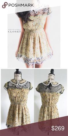 Selling this Anna Sui Silk Wild Flower Dress on Poshmark! My username is: dollface86. #shopmycloset #poshmark #fashion #shopping #style #forsale #Anna Sui #Dresses & Skirts
