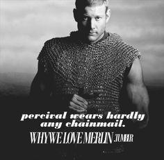 Why We Love Merlin Tumblr :Percival (Tom Hopper)
