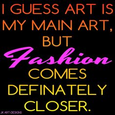 Mijn T-shirt-prints: Art Is My Main Art
