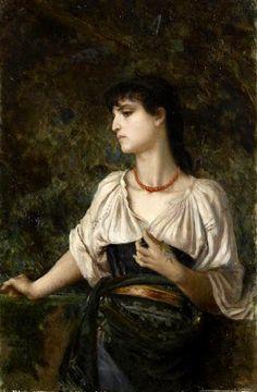 Art Inconnu - Little-known and under-appreciated art.: Antoine Auguste Ernest Hébert (1817-1908)