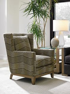 Shadow Play Atlas Wing Chair by Lexington at Baer's Furniture Living Room Color Schemes, Chair And Ottoman, Upholstered Seating, Chair, Furniture, Mattress Furniture, Lexington Home, Accent Chairs, Wing Chair