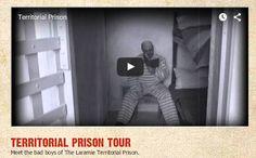 Stop 9. TERRITORIAL PRISON TOUR Meet the bad boys of The Laramie Territorial Prison. http://visitlaramie.org/Prison/