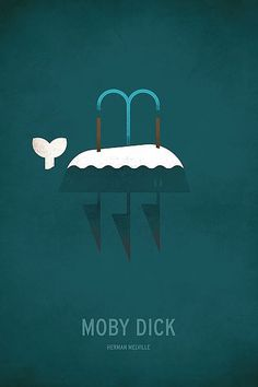 Moby Dick Minimal- Christian Jackson imageconscious.com